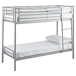 Mika Shorty Bunk Bed Frame, Silver