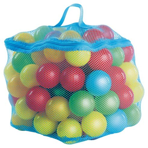 Tesco 300 Ballpit Playballs, Blue Theme