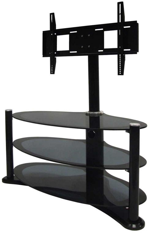 MODUS Aero 1100 - Black Cantilever Plasma / LCD Stand for up to