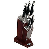 Prestige 6 piece Art Deco Knife Block