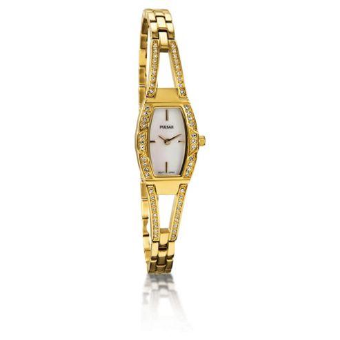 Pulsar Ladies Gold Dress Watch