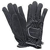 Harry Hall Domy Suede Gloves Medium
