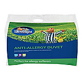 Silentnight Antibacterial Single Duvet , 4.5 Tog
