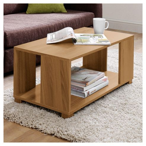 Nico Coffee Table, Oak-effect