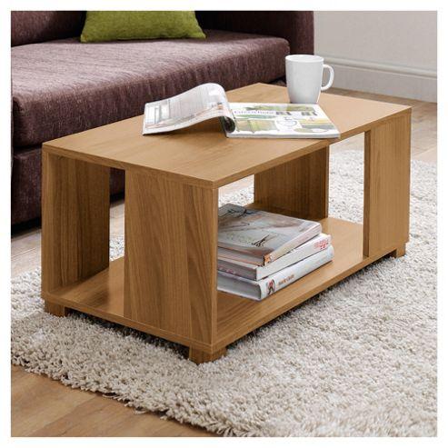 Nico Coffee Table, Oak-effect