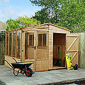Mercia 8 x 8 Combi Shed & Greenhouse