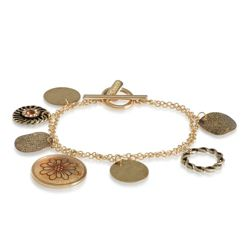 Elspeth Gibson Gold Coin Bracelet