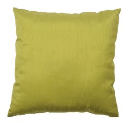 F&F Home Basic Faux Silk Cushion - Green 43X43