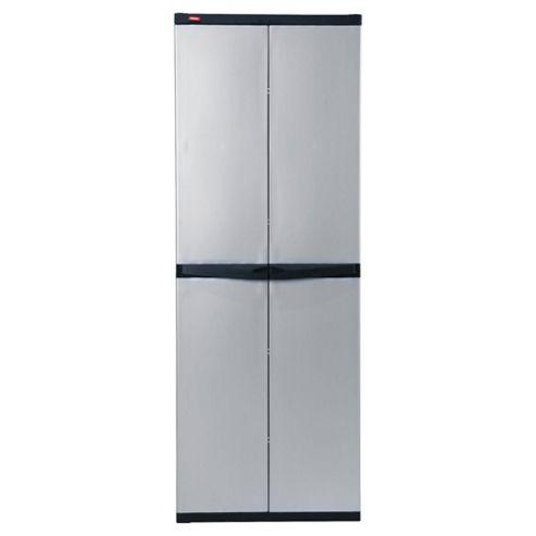 Keter Utility 4 shelves Cabinet, Grey