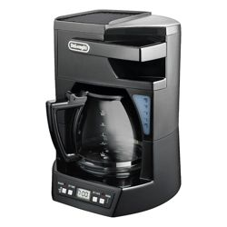 DeLonghi ICM 40B 1.8 12 Cup Coffee Machine - Black
