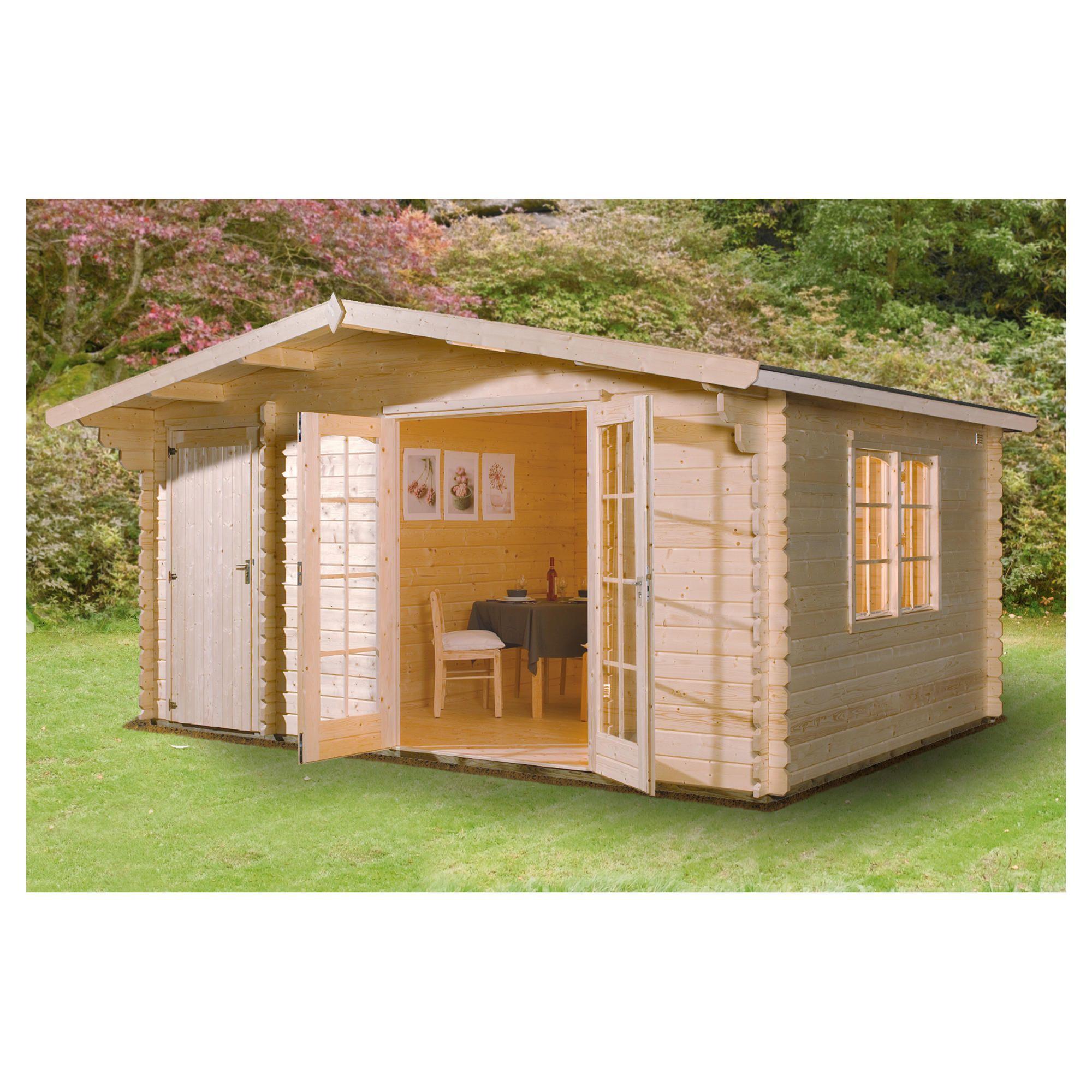 Finnlife Talo 210 Log Cabin at Tesco Direct