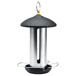 Gardman large steel feeder, black