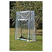 Tesco Growbag Growhouse wit Metal Frame & Plastic cover