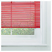 Sunflex Aluminium Venetian Blind, Red Gloss 60cm