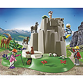Playmobil - Rock Climbers with Mountain Animals 5423