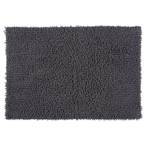 buy tesco chenille bath mat grey from our bath mats range. Black Bedroom Furniture Sets. Home Design Ideas