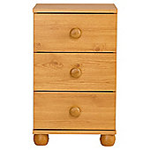 Addison Bedside Table, Pine Effect