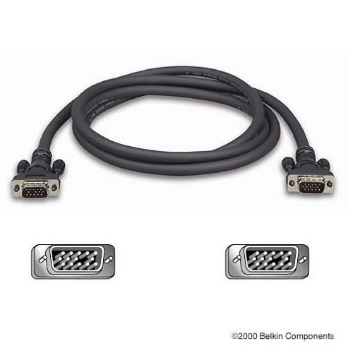 Belkin, High Integrity VGA/SVGA Monitor Replacement Cable - 1.8M