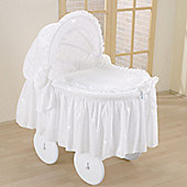 Leipold Brilliant Wicker Hood Crib