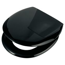 Croydex Anti-Bac Toilet Seat - Black