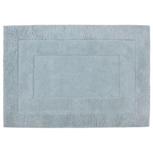 Tesco Rugs Tiered Wool Rug, Duck Egg 150x240cm
