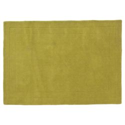 Tesco Rugs Wool Rug, Green 100x150cm