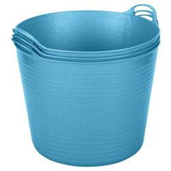 42L Flexi Tub 3 Pack, Blue