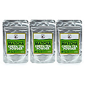 Premium Organic Matcha Green Tea Powder - 3 x 30g Bags (90g)
