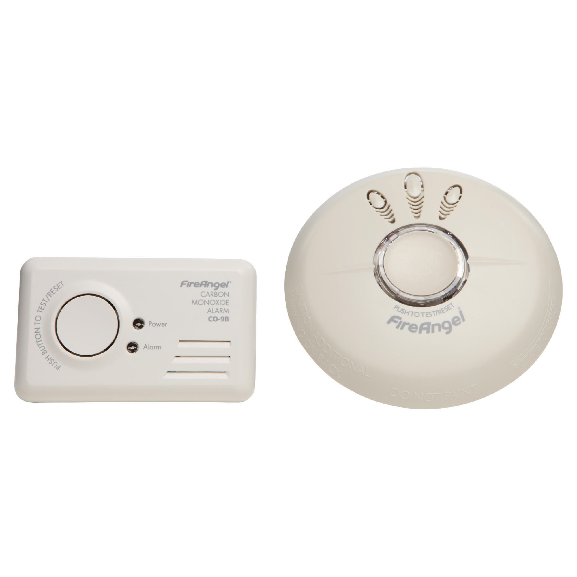 Fireangel Smoke & Co Alarm Combined Pack