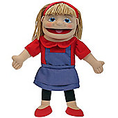 The Puppet Company Puppet Buddies Small Girl Light Skin