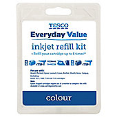Tesco Value Cartridge Ink Refill Kit - Tri-Colour