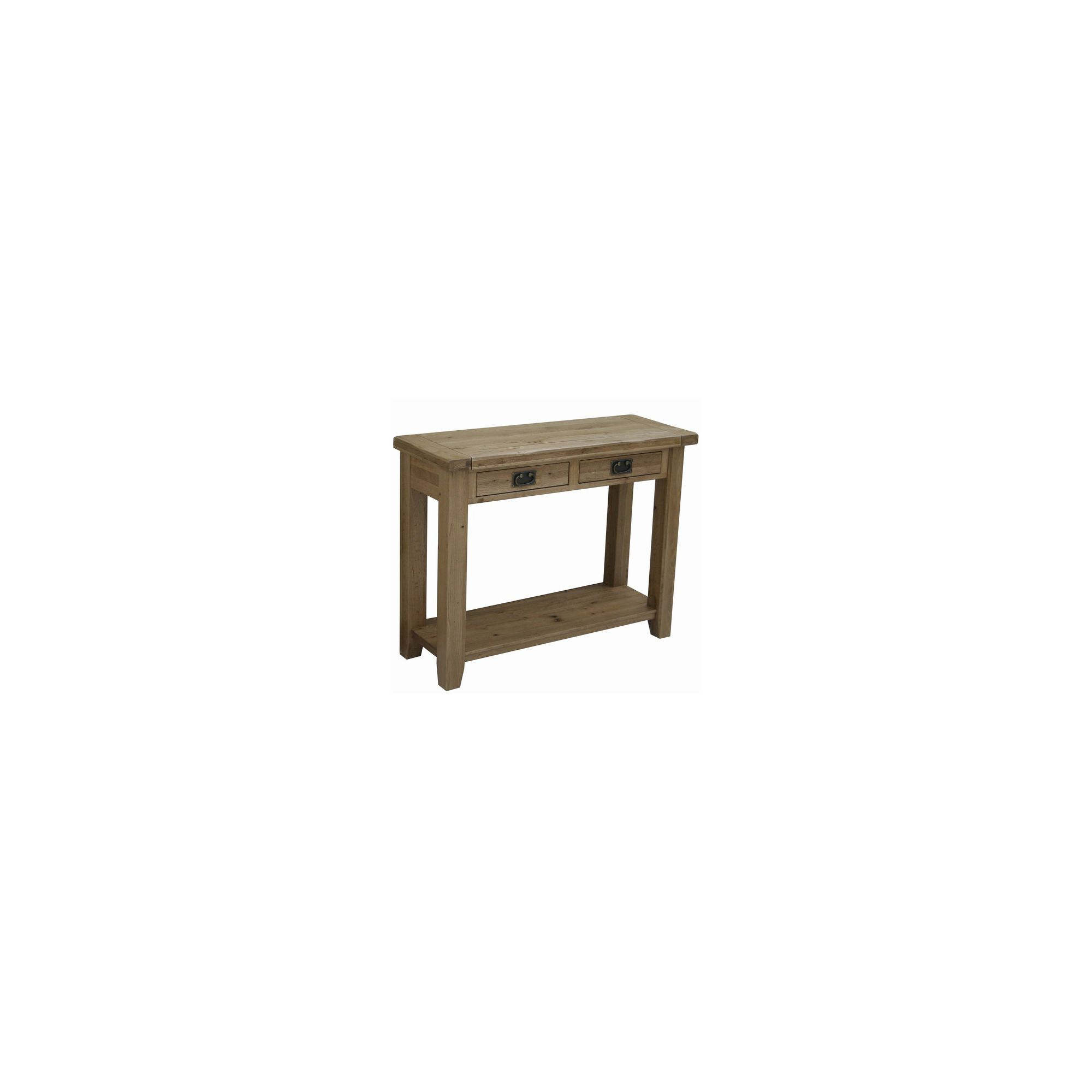 Marble Coffee Table Tesco: Rutland Solid American White Oak Console Table