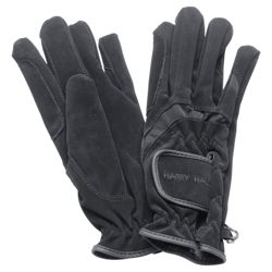 Harry Hall Domy Suede Gloves Small