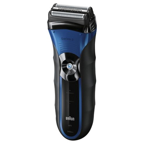 Braun Series 3 340s-4 Rechargeable Wet & Dry Foil Electric Shaver