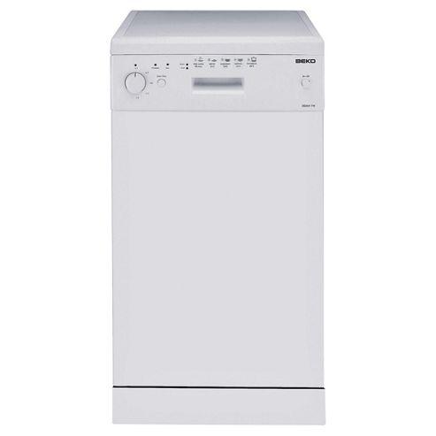 Beko DE2542FW  Slimline Dishwasher, A Energy Rating. White