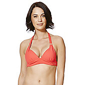 F&F Luxury Halterneck Bikini Top - Orange