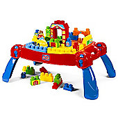 Mega Bloks First Builders 3 in 1 Play'n Go Table
