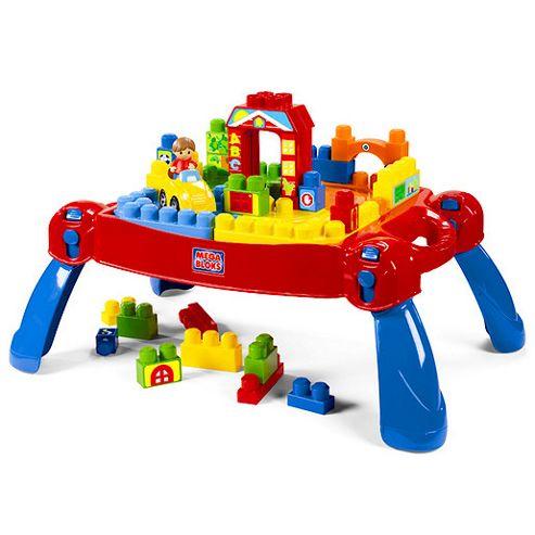 Mega Bloks First Builders Build'n Learn Table