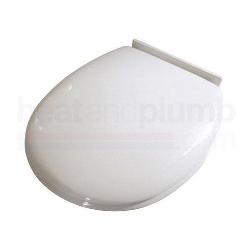 Croydex Anti-Bacterial Slow Close Plastic Toilet Seat White