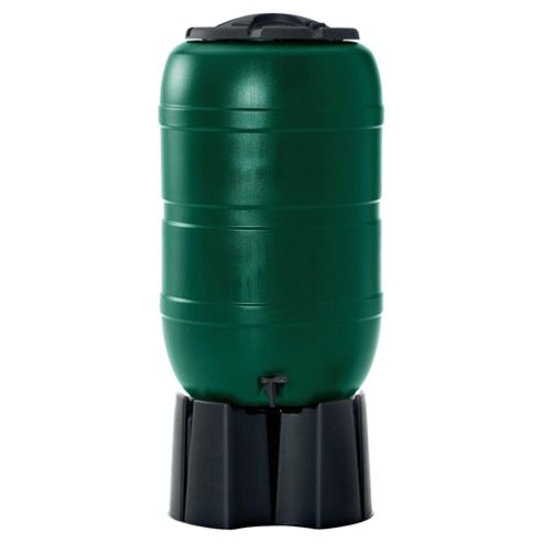 Strata 210L Plastic Water Butt With Stand & Connector