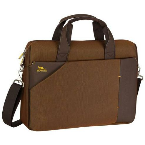 RIVACASE 8130 15.6 Inch Laptop Bag, Dark Brown