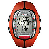 Polar RS300X Sports Watch/Heart Rate Monitor, Orange