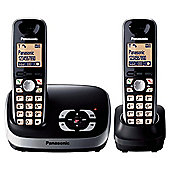 Panasonic KX-TG6522EB Twin Telephone