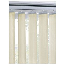 Vertical Blind Cream W183Xdrop137Cm