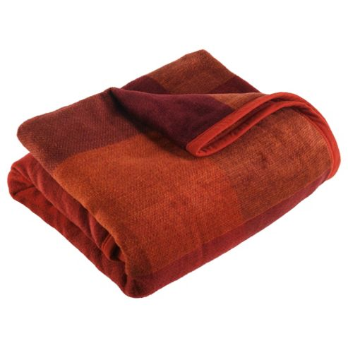 Biederlack Thermosoft Square Throw, Red