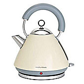 Morphy Richards 43775 1.5L Accents Traditional Kettle - Cream
