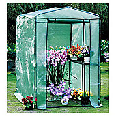 Tesco Walk In Growhouse with Metal Frame & Plastic Cover