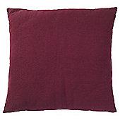 Tesco Large Basic Cushion, Plum