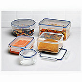 Tesco 5 piece Klip Fresh Set