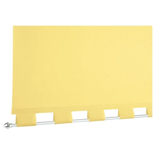 Turret Roller Blind, Buttercup Yellow 90Cm